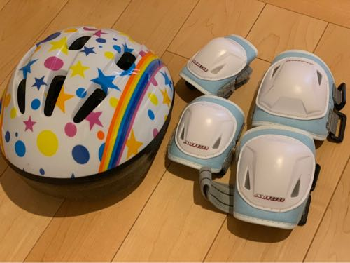 プロテクターとヘルメット