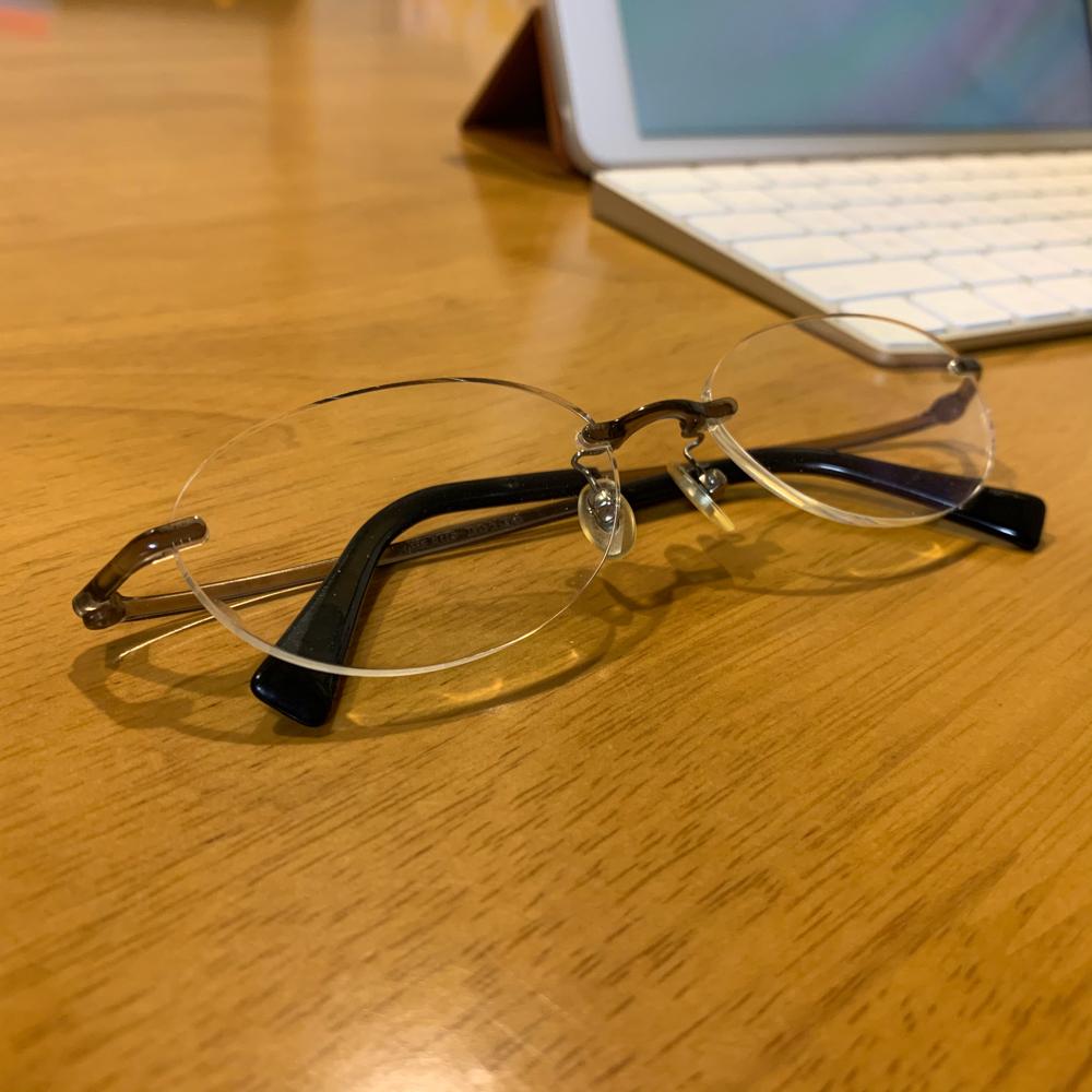 眼鏡の写真