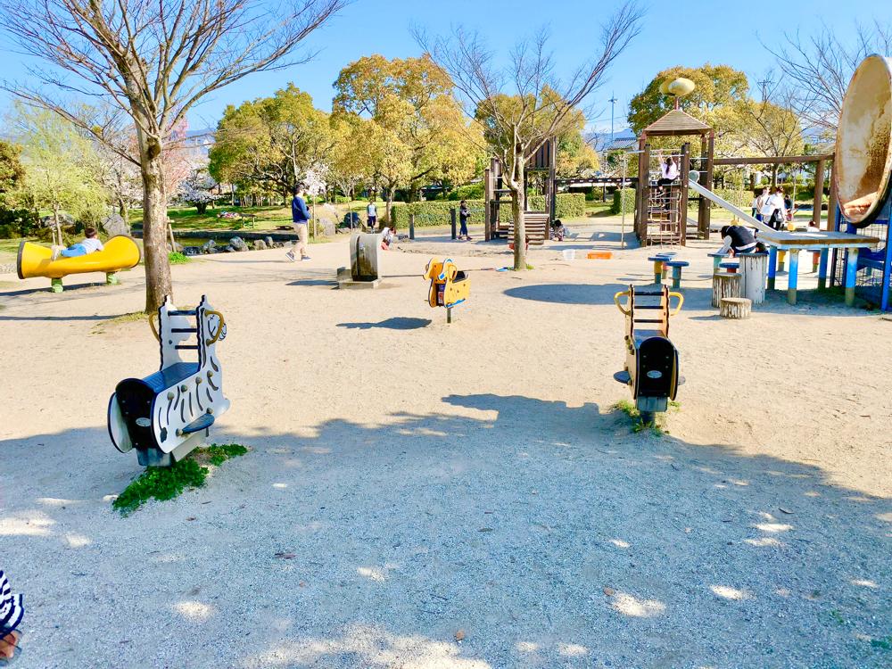 杖ノ淵公園の遊具