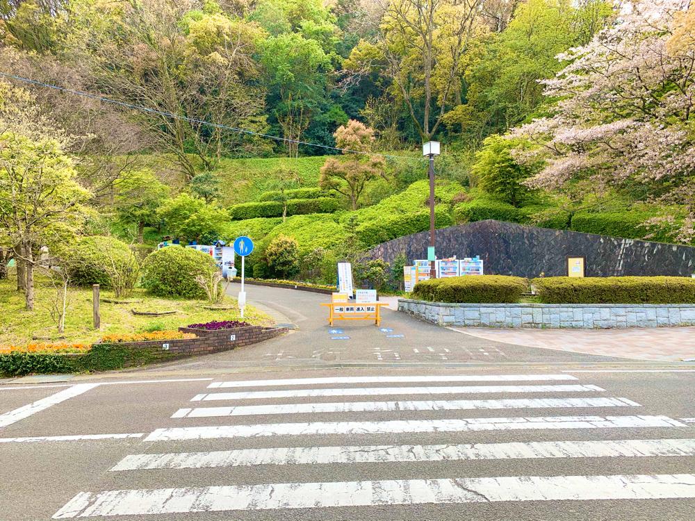 松山総合公園入り口